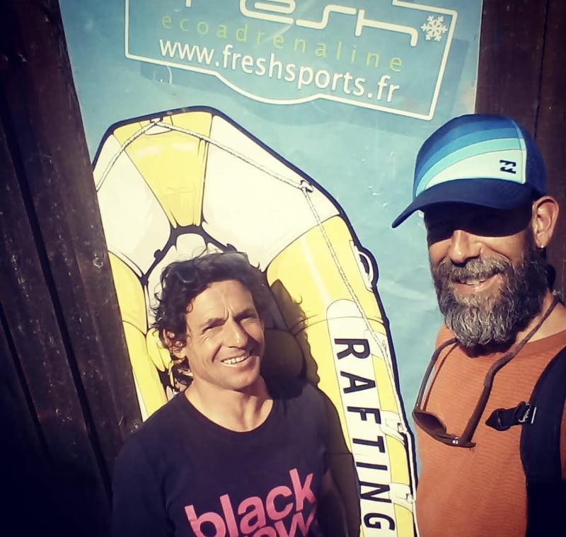 L'équipe fresh rafting ubaye