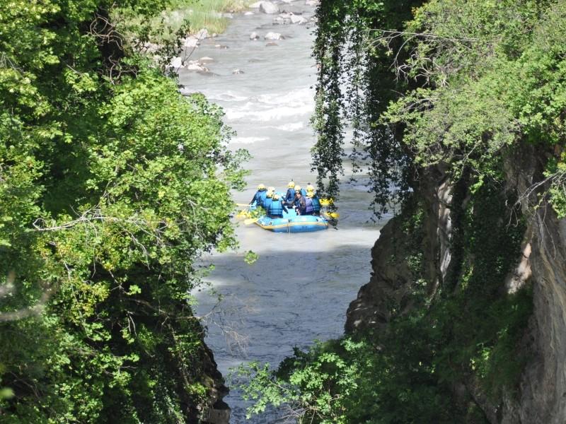 Rafting en plaine nature sur l'Ubaye